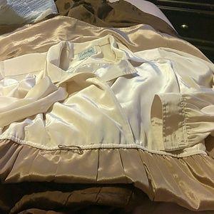 Leslie fay vintage shimmer dress